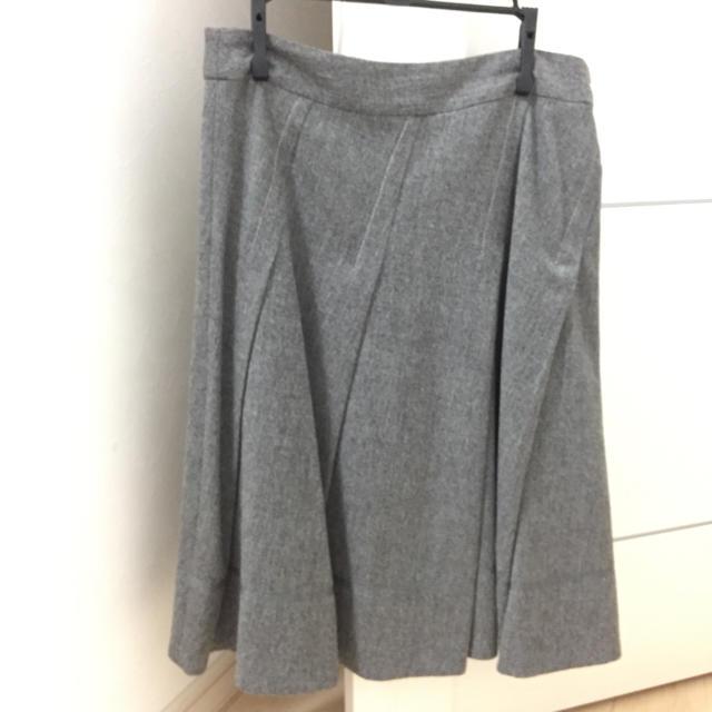 スカート レディースのスカート(ひざ丈スカート)の商品写真