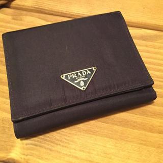 プラダ(PRADA)のPRADA プラダ3つ折り財布(財布)