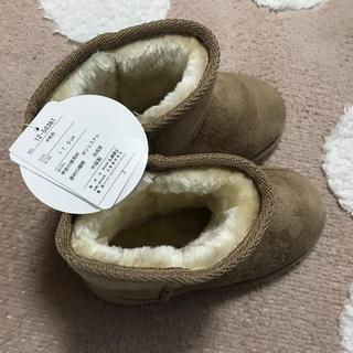 シマムラ(しまむら)のしまむら ムートンブーツ 17cm 新品タグ付き(ブーツ)