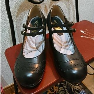 アシナガオジサン(あしながおじさん)のあしながおじさん ストラップパンプス(ローファー/革靴)