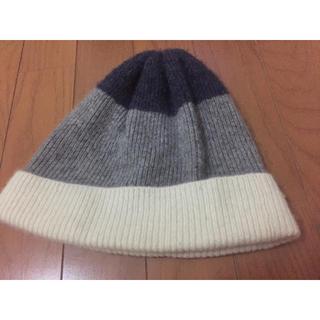 ムジルシリョウヒン(MUJI (無印良品))のニット帽(ニット帽/ビーニー)