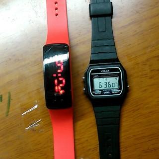 ジーショック(G-SHOCK)の腕時計 二つで300円!(腕時計(デジタル))