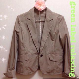 グリーンレーベルリラクシング(green label relaxing)のお値下げ✨新品ジャケット(テーラードジャケット)