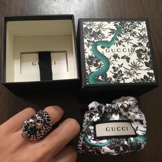 グッチ(Gucci)のGucci ライオンリング ミケーレ 確実正規品(リング(指輪))