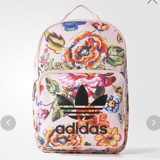 アディダス(adidas)のアディダス 花柄 オリジナルス リュック バックパック 花(リュック/バックパック)