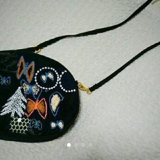 ミナペルホネン(mina perhonen)のミナペルホネン 一点物 ハンドメイドショルダーバッグ(バッグ)