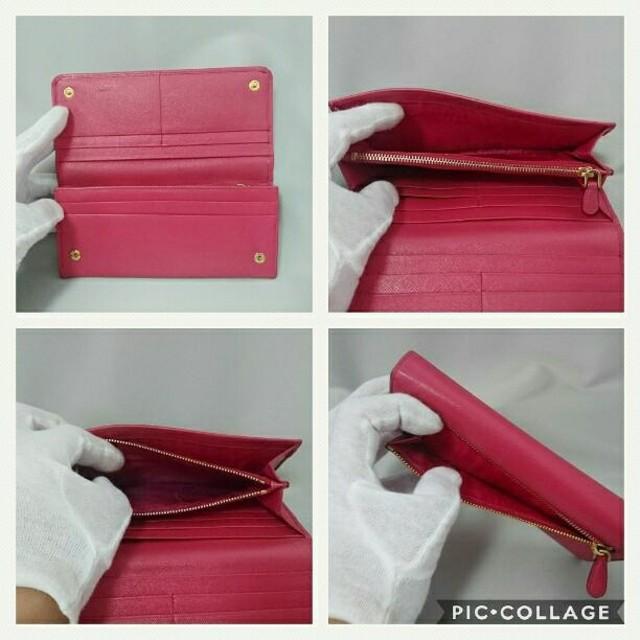 PRADA(プラダ)の✨美品✨❤️PRADA サフィアーノ ピンクレザー 長財布❤️ レディースのファッション小物(財布)の商品写真