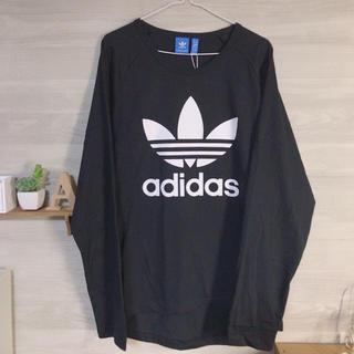 アディダス(adidas)のadidasのロングTシャツ(Tシャツ(長袖/七分))