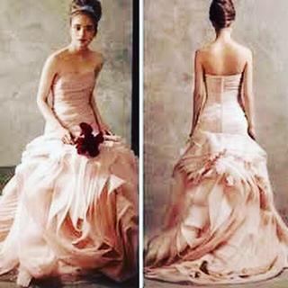 ヴェラウォン(Vera Wang)のverawang white blush サイズ0(ウェディングドレス)