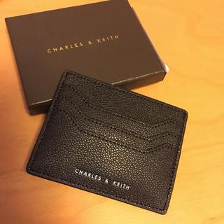 チャールズアンドキース(Charles and Keith)のCharles & Keith カード入れ 【新品未使用】(名刺入れ/定期入れ)