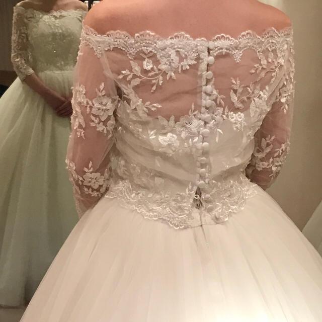 da507774e0834 レース ボレロ ウェディングドレス レディースのフォーマル ドレス(ウェディングドレス)の商品写真 ...