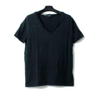 テイラーデザイン(Taylor Design)のテイラーデザイン 襟色切替VネックTシャツ カットソー ニールバレット(Tシャツ/カットソー(半袖/袖なし))