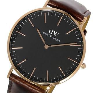 ダニエルウェリントン(Daniel Wellington)のダニエルウェリントン ブラックブリストル/ローズ 腕時計 DW00100125(腕時計(アナログ))
