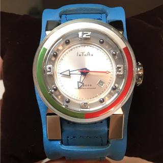 アイティーエー(I.T.A.)の時計 I.T.A. ヌメロゼロ 生産終了モデル 美品!(腕時計)