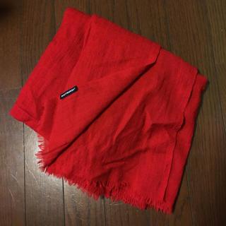 マリメッコ(marimekko)のmissan様専用マリメッコ正規品 赤 ストール ショール マフラー(マフラー/ショール)