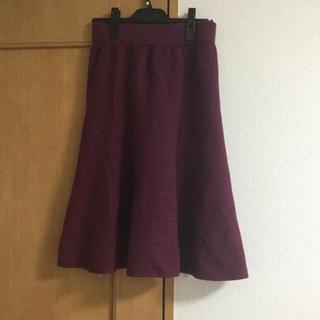 デプレ(DES PRES)のデプレ ミモレ丈ウールスカート(ロングスカート)