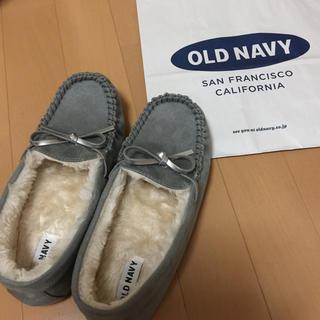 オールドネイビー(Old Navy)のOLD NAVY モカシン グレー(スリッポン/モカシン)