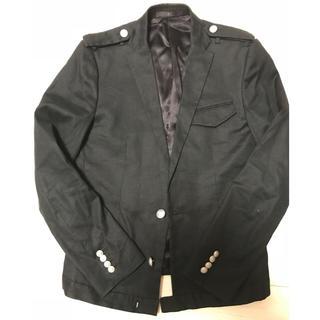 ザトゥエルヴ(THE TWELVE)のザトゥエルヴ綿麻テーラードジャケット黒(テーラードジャケット)