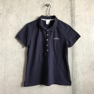 マリクレール(Marie Claire)の紺色 ポロシャツ(ポロシャツ)