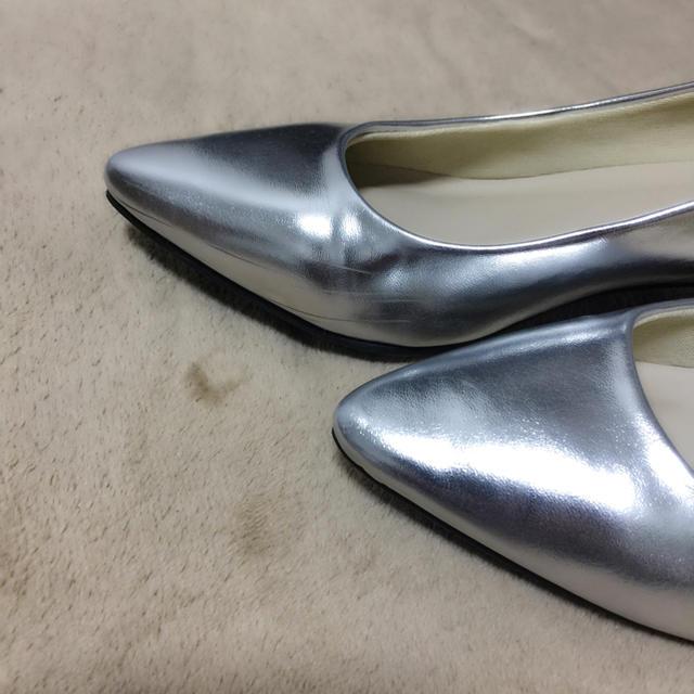 salus(サルース)のシルバースムースのパンプス レディースの靴/シューズ(ハイヒール/パンプス)の商品写真