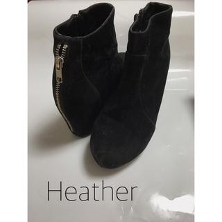 ヘザー(heather)のHeather*ZIPブーティ(ブーティ)