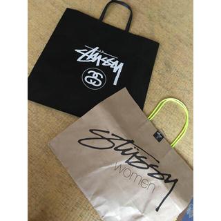 ステューシー(STUSSY)のショッパー(ショップ袋)