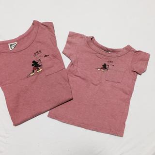 エフオーキッズ(F.O.KIDS)の親子お揃いコーデ♡ミッキーTシャツ♡セット(Tシャツ/カットソー)