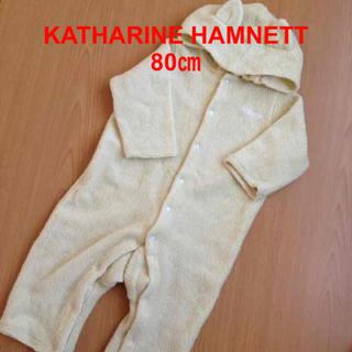 キャサリンハムネット(KATHARINE HAMNETT)の柔らかアウター♡80(カバーオール)