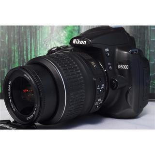 ニコン(Nikon)のスマホにらくらく転送 D5000 ニコン NIKON☆手振れ補正レンズ☆(デジタル一眼)