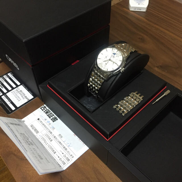 ORIS(オリス)のオリス コンプリケーション 7703 メンズの時計(腕時計(アナログ))の商品写真