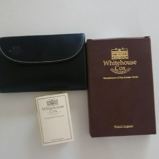 ホワイトハウスコックス(WHITEHOUSE COX)のWhitehouse Cox 財布 Holidaylineホワイトハウスコックス(折り財布)