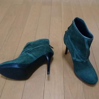 【新品】 VERA  PELLE  ショートブーツ(ブーツ)
