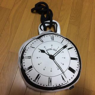 スライ(SLY)のホテルスライ  時計クッション(クッション)
