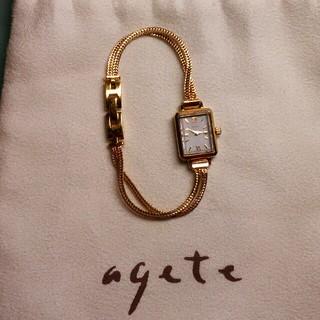 アガット(agete)の*agete*腕時計(腕時計)