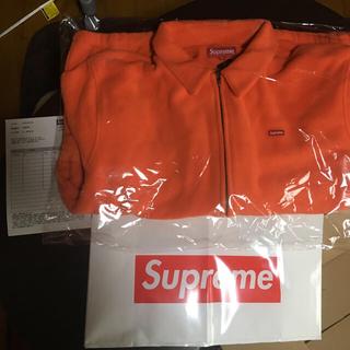 シュプリーム(Supreme)のSupreme polartec Harrington jacket フリース(ブルゾン)
