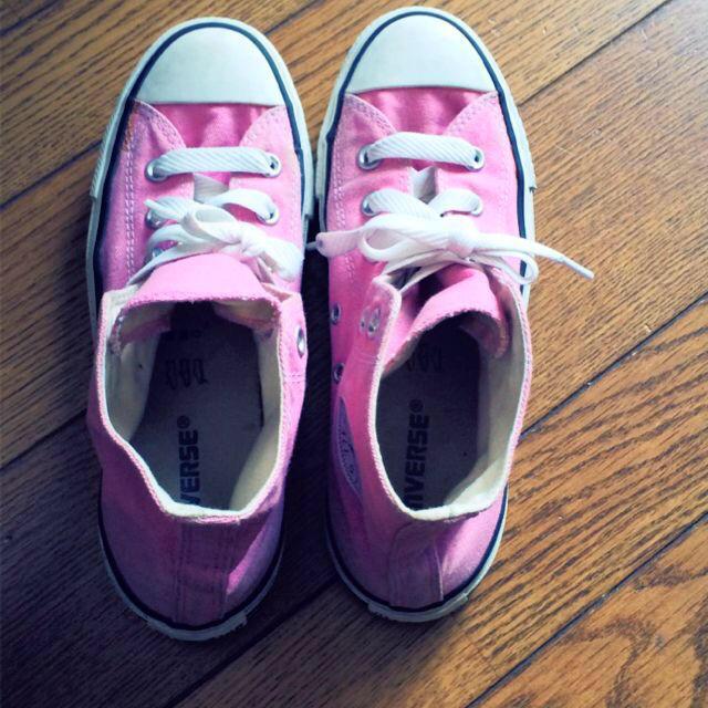 CONVERSE(コンバース)のコンバース ピンクシューズ レディースの靴/シューズ(スニーカー)の商品写真
