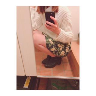 エモダ(EMODA)のトロピカル SK(ひざ丈スカート)