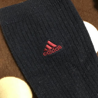 アディダス(adidas)のスクール用ハイソックス(ソックス)