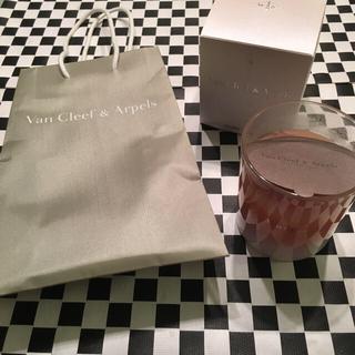 ヴァンクリーフアンドアーペル(Van Cleef & Arpels)のヴァンクリーフ&アーペル♡非売品アロマキャンドル(キャンドル)