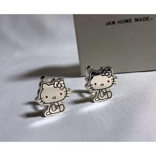 ジャムホームメイドアンドレディメイド(JAM HOME MADE & ready made)の正規新古 限定 ジャムホームメイド×サンリオ コラボ ハローキティカフス ボタン(カフリンクス)