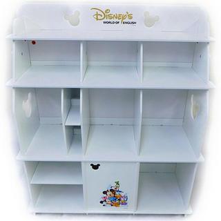 ディズニー(Disney)のDWE 棚 ホワイト(棚/ラック/タンス)