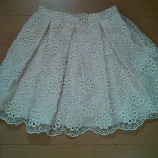 マーキュリーデュオ(MERCURYDUO)のマーキュリーのオーガンジースカート♪(ミニスカート)