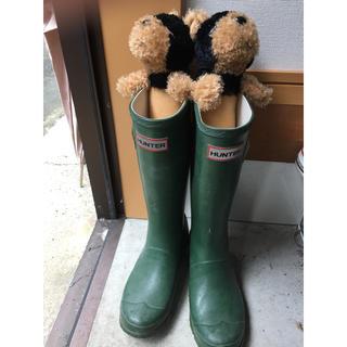 ハンター(HUNTER)のHUNTER ハンター のレインブーツ 長靴 UK2 21〜21.5am(長靴/レインシューズ)