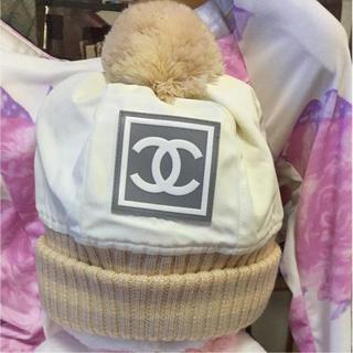 シャネル(CHANEL)のシャネル✨ニット帽✨(ニット帽/ビーニー)