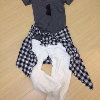 エルエヌエー(LnA)の【売切れ】LNAダークグレーTシャツ(Tシャツ(半袖/袖なし))