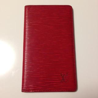 ルイヴィトン(LOUIS VUITTON)のヴィトン  手帳ケース(名刺入れ/定期入れ)