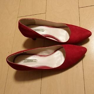 ランダ(RANDA)の専用商品。RANDA 赤パンプス + レプシム ショートブーツ(ハイヒール/パンプス)