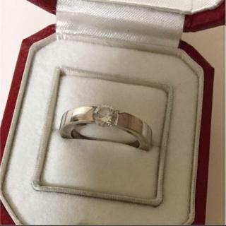 カルティエ(Cartier)のカルティエ◆ダイヤ リング 指輪◆正規店購入(リング(指輪))