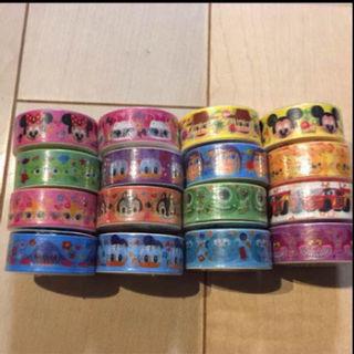 新品♡ディズニー♡マスキングテープ16個セット♡ラッピングなど!(その他)