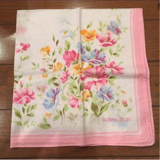 ハナエモリ(HANAE MORI)のHANAEMORI 花柄 ハンカチ(ハンカチ)